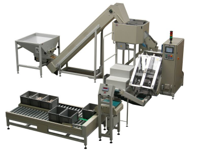 Automatic packaging for loose parts